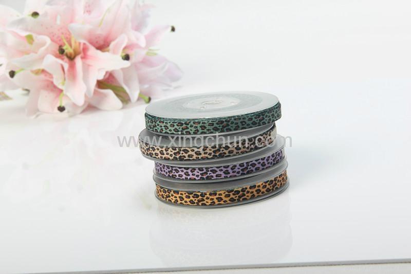 animal stripe printed ribbon 3