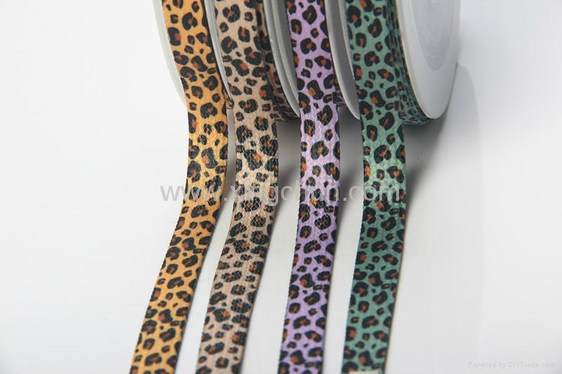 animal stripe printed ribbon 5