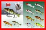 Wooden Fishing Lure (HFA140)