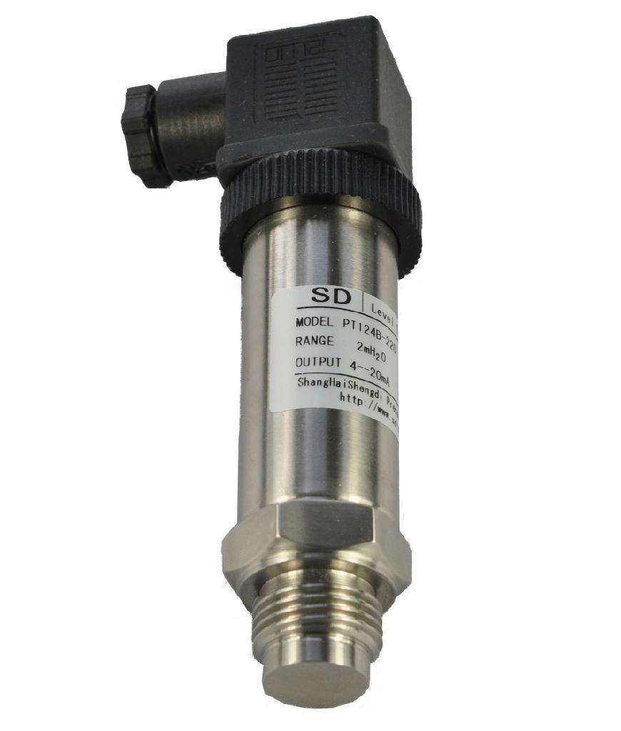 齊平膜高精度壓力變送器(SDG-QM系列) 1