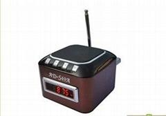 AD-S49A插TF卡音箱 帶收音機 屏顯 外音耳機U盤音箱