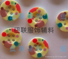printing resin button