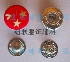 印花金属扣