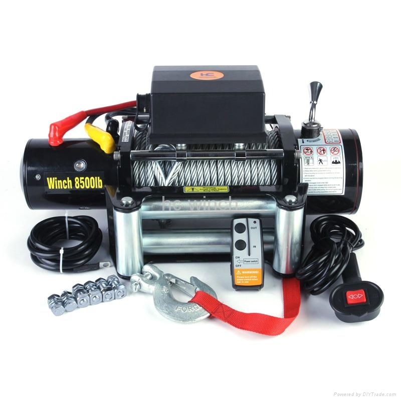Trailer Electric Winch 8500lb 1