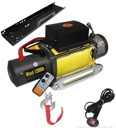Trailer Electric Winch 8500lb 4