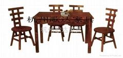 杭州炭燒木餐桌