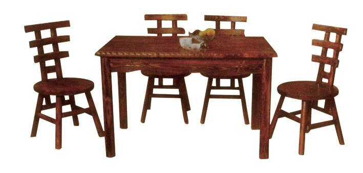 杭州炭烧木餐桌 4