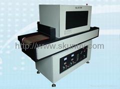UV USB line coating machine UV glassed curing machine