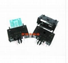 力特153008PCB型小號汽車插片保險絲座盒