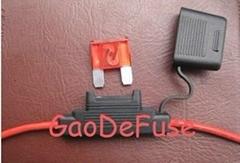 AMT大號插片防水型汽車線束保險絲座