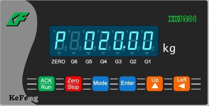 供应科丰称重仪表XK3201Y 1