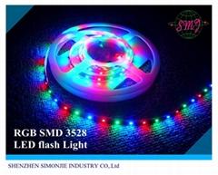 3528 Flexible led strip(60 LED/Metre) 12V waterproof