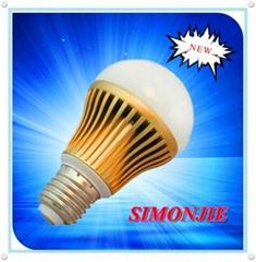 AC/85V-265V 6pcs E26/E27 7.2W cob LED bulb light