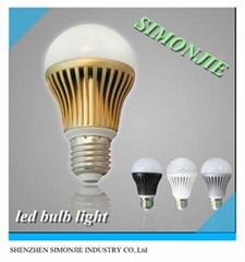 6pcs E26/E27 7.2W LED bulb light with