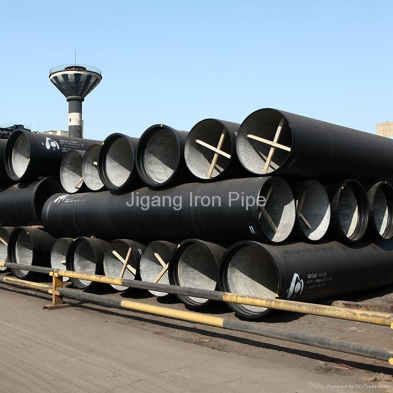 Ductile iron pipe dn jigang china