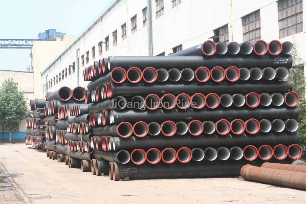 K ductile iron pipe dn jigang