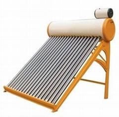 Compact Non-pressure Solar Water Heater Galvanized Steel Series