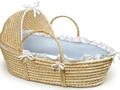 Crib and cradle