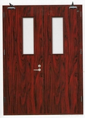 Wooden fireproof door