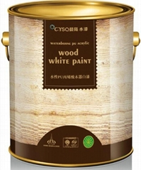 Waterborne PU modified acrylic wooden paint