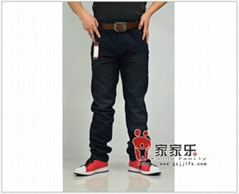 new style men's washed jeans