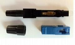 皮线光缆光纤快速连接器
