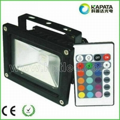10W high power RGB led floodlight