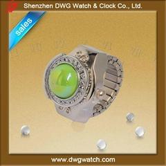 emerald ring watch