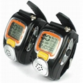 wrist watch style talkie walkie 2