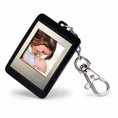 1.5 inch mini digital photo frame with key ring
