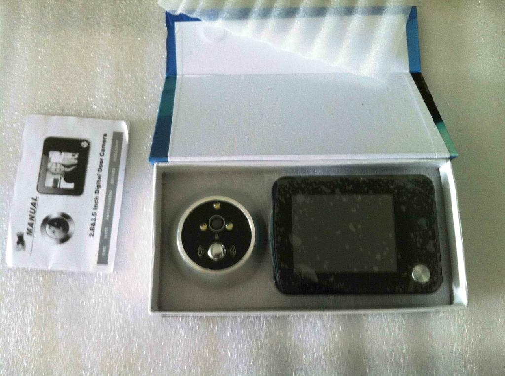 Digital Door Peephole with Auto-Snapping Picture Function (SQ-908) 4