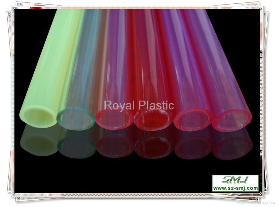 PVC ABS PE Hard Plastic Pipe