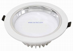 高品质 铝壳 嵌入式 LED筒灯