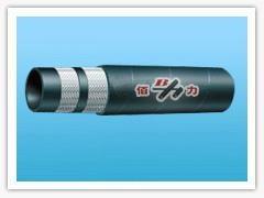 Braided hydraulic hose: 1