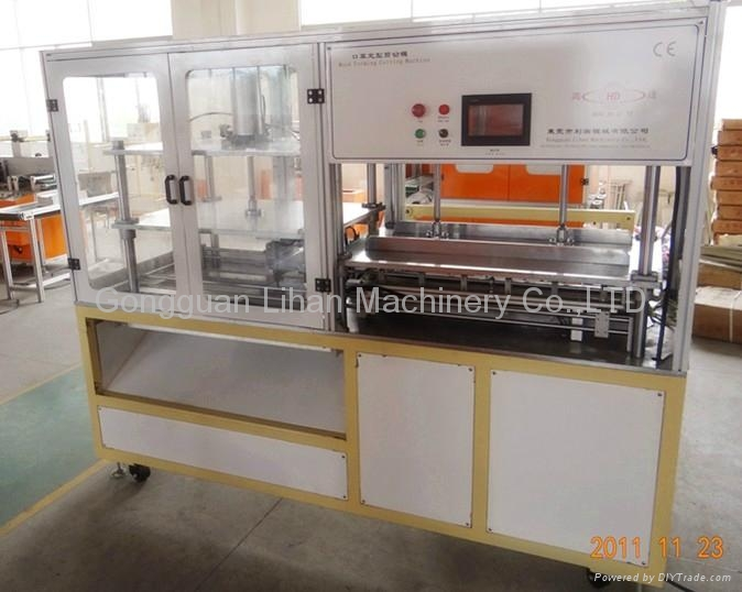 AUTOMATIC CUP TYPE MASK CUTTING MACHINE 1