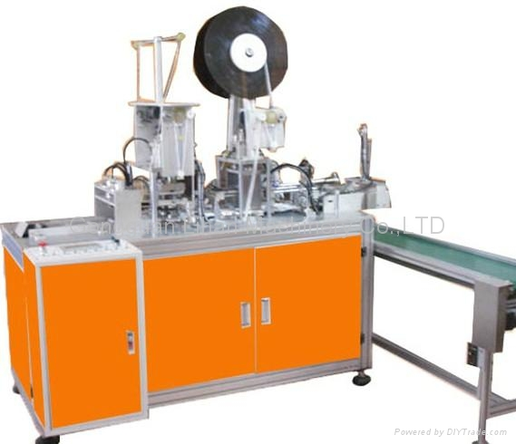 AUTOMATIC INSIDE EARLOOPS WELDING MACHINE 1