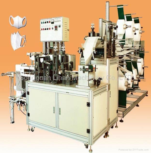 AUTOMATIC DUSTPROOF MASK MACHINE 1