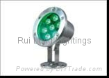 7W 24V LED Underwater Light
