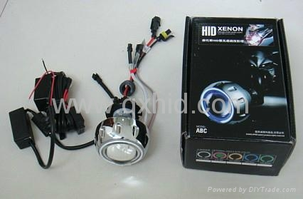 motorcycle bike hid bi xenon headlights projector lens kit. Black Bedroom Furniture Sets. Home Design Ideas