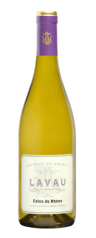 拉沃隆河山坡干白葡萄酒2010 1