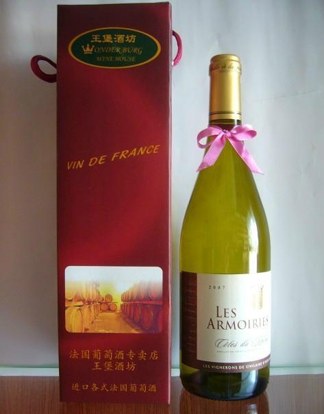 法國羅納河谷阿姆白葡萄酒2007 1