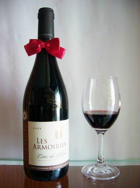 法國羅納河谷阿姆紅葡萄酒2006 1