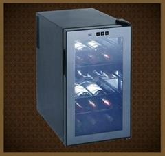JC-48G電子觸摸屏式48L-18瓶裝紅酒櫃 電子酒櫃