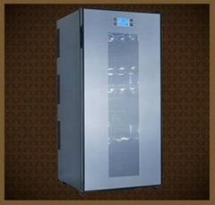 JC-180G電子觸摸屏式180L-72瓶裝紅酒櫃 電子酒櫃