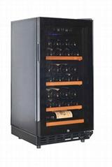MG28S-T1P 28支裝壓縮機制冷單溫直冷式紅酒櫃