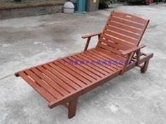 木製沙灘椅KS-004