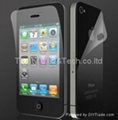 Anti Glare Anti Fingerprint Screen Protector for Iphone 4