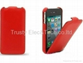Melkco pu leather case for iphone 4s 4