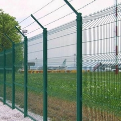 pvc wire mesh fence panel
