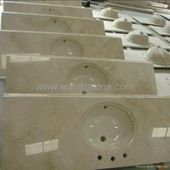 Cerama Marfil Marble Vanity Top